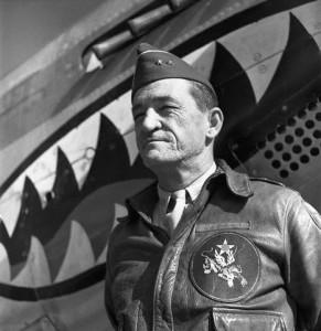 Portrait of Commander Claire Chennault