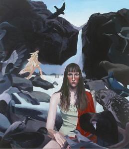 """Soma    2003   Acrylic on Canvas   48"""" x 36"""""""