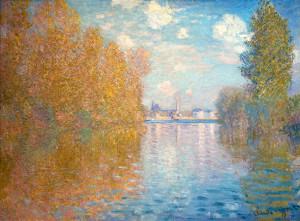 Autumn Effect at Argenteuil, by Claude Monet, 1873
