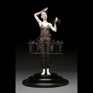Porcelain Stoneware Foud Objects 28 x 16 x 16