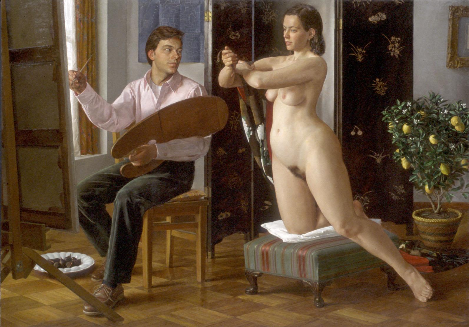Эротика в русской живописи 14 фотография