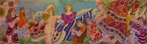 Maya Burman _ paintings