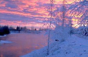 Morning in Fairbanks