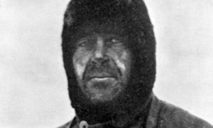 Captain Robert Falcon Scott.