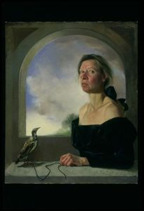 """Self-Portrait with Bird on a String"""