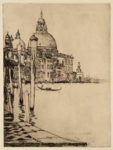 The Salute, Venice 1902 by Sir Charles Holroyd 1861-1917