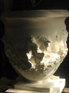 Masood Rangrazan - sculptures - Iran