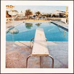 Pool #2 1968/1997 by Edward Ruscha born 1937