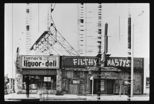 Filthy McNasty's (Sunset Strip Portfolio) 1976/1995 by Edward Ruscha born 1937