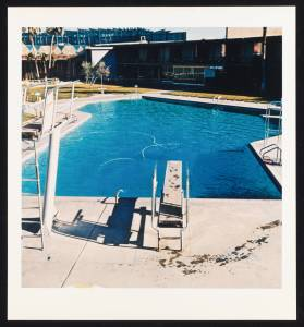 Pool #5 1968/1997 by Edward Ruscha born 1937