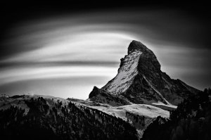 Matterhorn, Moonlight Clouds, 2011