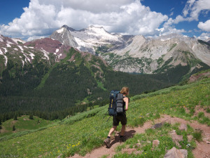 Hiking Buckskin Pass